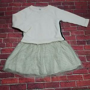 CREWCUTS Sweatshirt dress girls size 6